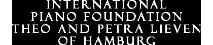 International Piano Foundation Theo and Petra Lieven Logo