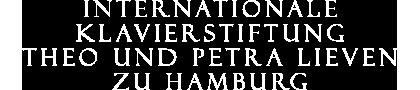 Internationale Klavierstiftung Theo und Petra Lieven Logo